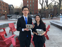 DEBATE WINS AT HARVARD TOURNAMENT