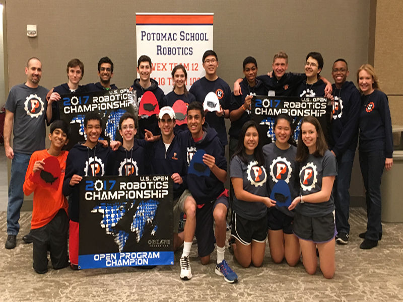 Robotics Teams Named U.S. Open National Champions