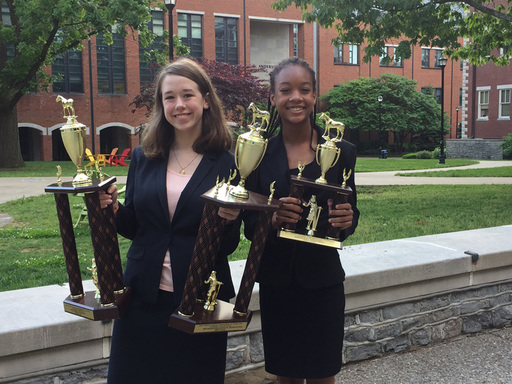 IS Debaters Excel at Tournament of Champions