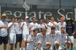 Boys Varsity Tennis Named State Champions, MAC Champions