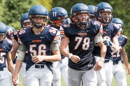 Varsity Football Sees First Victory Over St. Albans