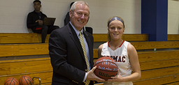 Courtlynne Caskin Breaks Girls Career Scoring Record