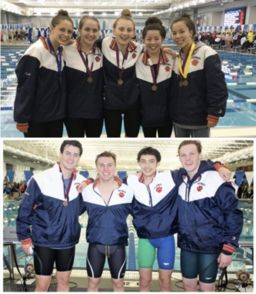 Swim and Dive Team Excels at VISAA Championship Meet