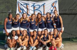 Girls Varsity Tennis Undefeated and ISL Champs