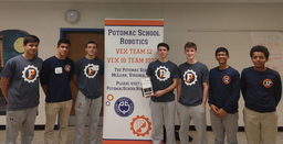 Robotics Performs Well in Fourth Virginia Tournament