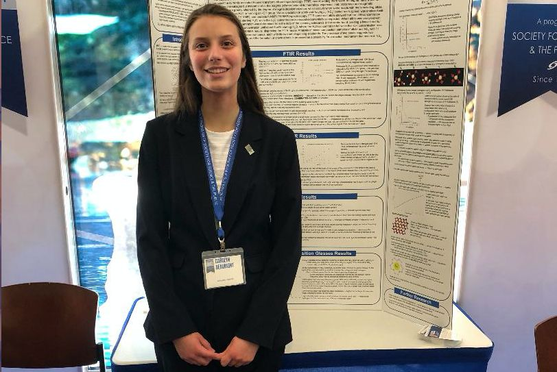 Carolyn Beaumont Takes Fifth Place in National Science Competition